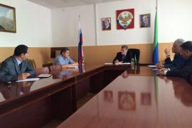 Министр здравоохранения РД Танка Ибрагимов в Хивской ЦРБ
