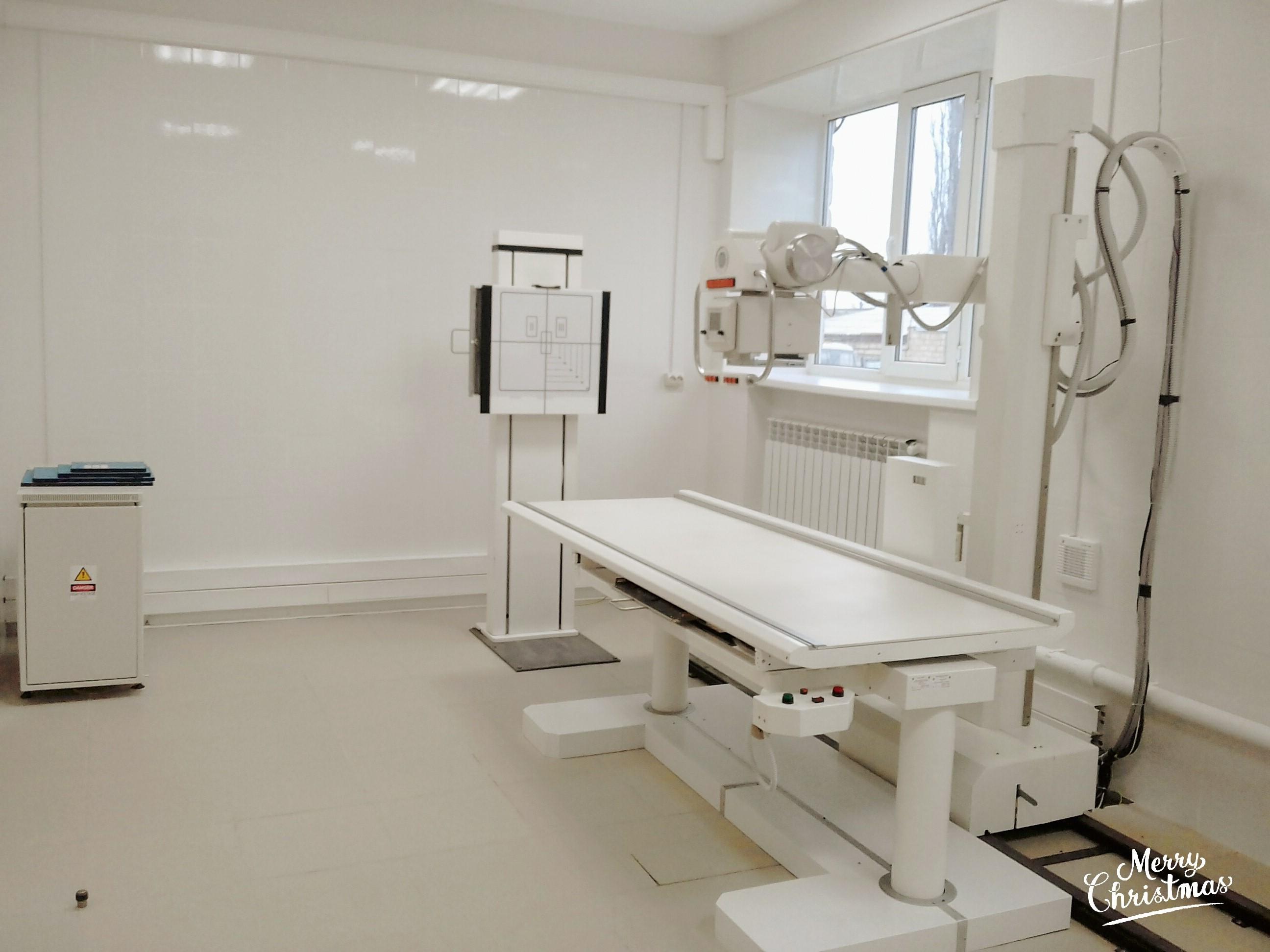 Новый рентгенкабинет