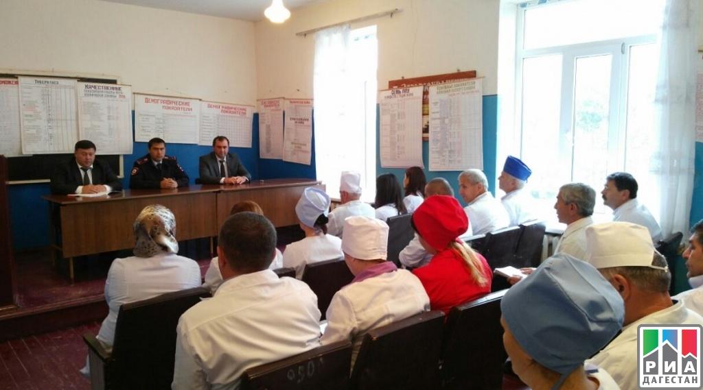 Вопросы профилактики экстремизма и терроризма обсудили в Хивской ЦРБ